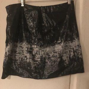 Joe Fresh sequin a line skirt